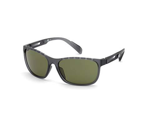 adidas Herren SP0014 Sonnenbrille, Grey/Other/Green, 62