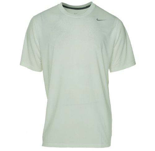 Nike Legend White Short Sleeve Performance Shirt, XL