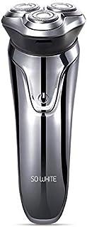 ماكينة حلاقة كهربائية من زيني - ماكينة حلاقة كهربائية قابلة لإعادة الشحن يو إس بي بيضاء للغاية ES3 من أجل ماكينة حلاقة شاو...
