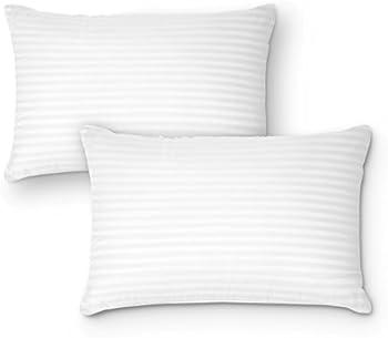 2-Pack DreamNorth Premium Gel Pillow Loft Luxury Plush Gel Bed Pillow