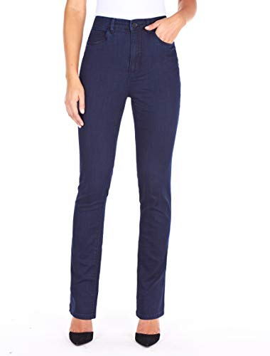 FDJ French Dressing Women s Peggy Curvy Fit Straight Leg Jeans,Pleasant Supreme Denim, 4