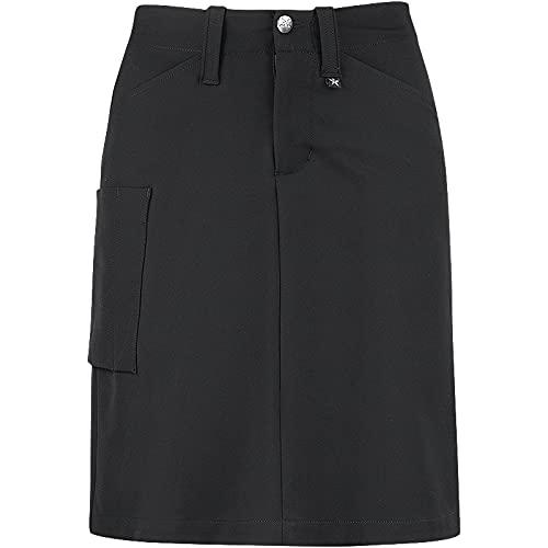 Texstar WP18 - Falda elástica para mujer (talla M), color negro