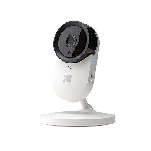 KODAK Cherish C120 Cámara Vigilabebe de alta definición con WiFi y App móvil - Zoom Remoto, Visión nocturna infrarrojos y conversación bidireccional - Complemento de vigilabebés con WiFi