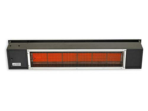 Sunpak 48-inch 25,000 Btu Natural Gas Infrared Patio Heater - Black - S25 B-ng