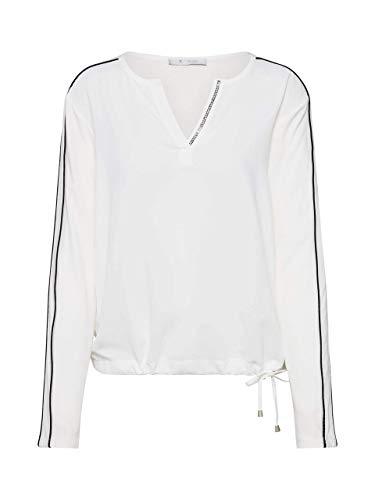 MONARI Damen Bluse Creme 42 (XL)