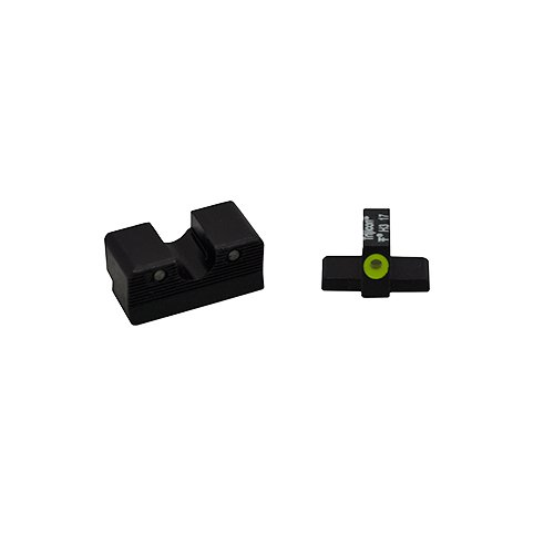 Trijicon SG603-C-600860 HD XR Night Sight Set, Sig Sauer Calibrated for .40 S&W & .45ACP, Yellow Front Outline Lamp