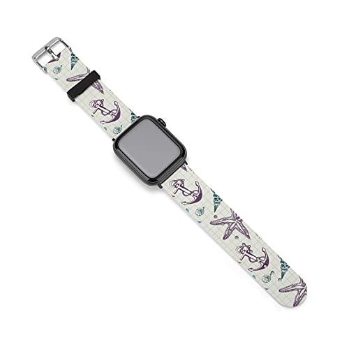 Correa de silicona para reloj Apple, adecuada para mujeres y parejas, longitud ajustable, 42mm/44mm,