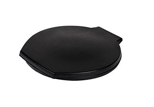 Reliance Products 9881-03 Luggable Loo Snap-on Toilet Seat with Lid for 5-Gallon Bucket, Black, 13.0 Inch x 1.5 Inch x 14.0 Inch