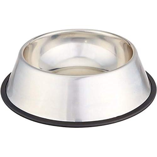 AmazonBasics - Ciotola per cani in acciaio INOX
