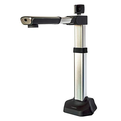 Megapixel-Buchscanner A3 / A4 Buchscanner Video-Stand Dual-Kamera-HD-High-Speed-Aufnahmen Document Camera Scanner for Das Büro Zu Hause Unterricht