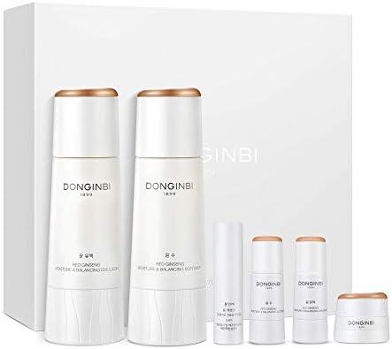 DONGINBI Red Ginseng Korean Skin Care Set Moisture Balancing Softener and Emulsion Moisture product image