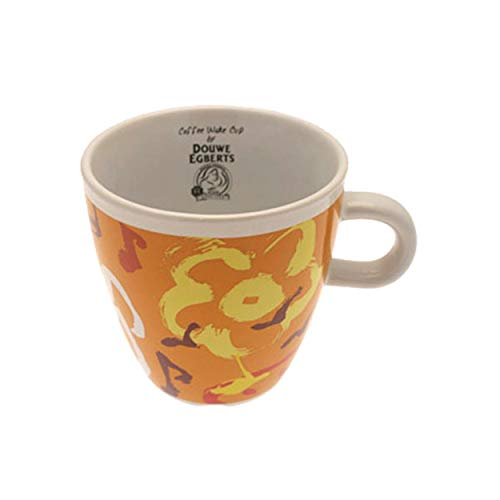 Douwe Egberts Kaffeebecher Becher Kaffeetasse Limitierte Auflage Orange 260 ml