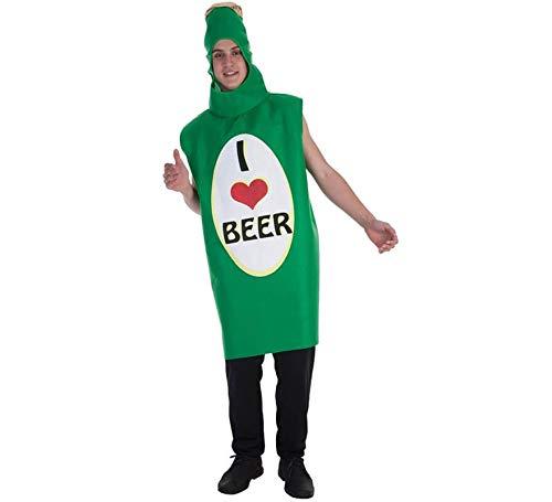 Creaciones Llopis Disfraz de Amo la Cerveza para Adultos