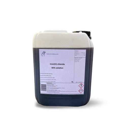Eisen(III) chlorid, Eisenchlorid, Eisen(III)-chlorid 40% ige Lösung (5 L)