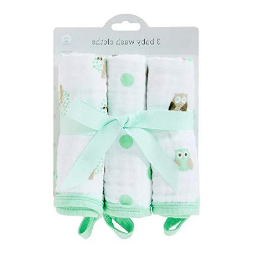 Champú baño 3 piezas toalla saliva recién nacido, gasa facecloth bebé pañuelo, enfermería para hombre