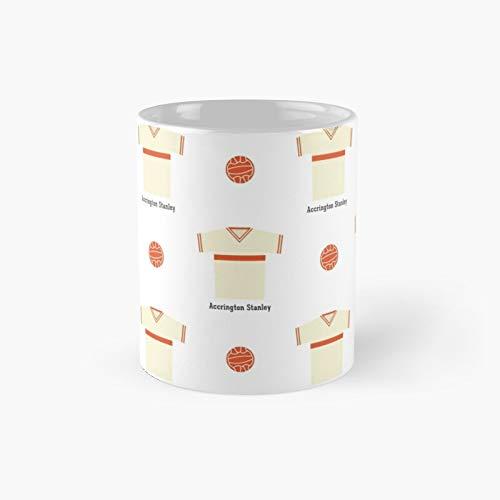 Accrington Stanley Classic Mug Best Gift Funny Coffee Mugs 11 Oz