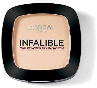 L'Oreal Paris Infallible 24H Compact Powder Foundation - 0.31 oz., 245 Warm Sand
