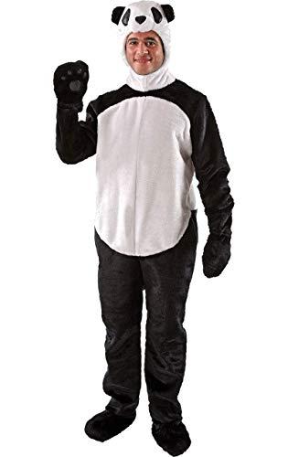 Costume de déguisement d'animal original et drôle avec combinaison de panda pour hommes