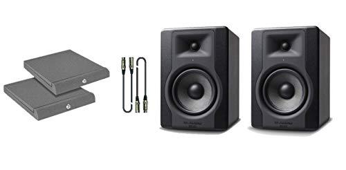 M-Audio BX8 D3 Kit - Coppia Monitor con Cavi e Pannelli Fonoassorbenti