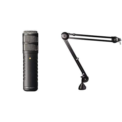 Rode Procaster Quality Dynamic Mikrofon & Røde PSA1 Gelenkarmstativ
