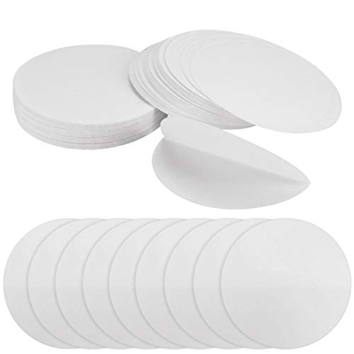 UPlama 200PCS Qualitative Filter Paper Circles,Lab Supply Ashless Quantitative Filter Paper,94mm Diameter Cellulose Filter Paper with 20 Micron Particle Retention Medium Filtration Speed