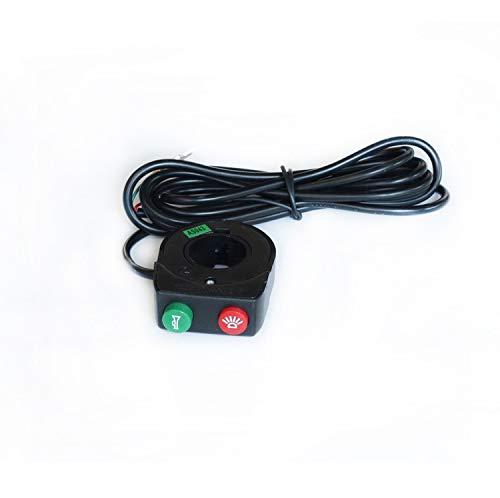 HUYANJUN HYJ-LABA, Accesorios de Bicicleta eléctrica Interruptor de Bicicleta E-Bicicleta de luz...