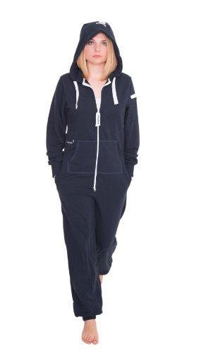 Jumpster Jumpsuit Second Generation Damen Herren Unisex Overall Onesie Regular Fit Deepest Blue Blau S