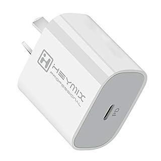 HEYMIX 20W USB C PD Fast Charger AU Plug (SAA Certificated) for iPhone 12/12 Mini/ 12 Pro /12 Pro Max /11, Galaxy, Pixel 4/3, Pad Pro, White (B08P512HVZ) | Amazon price tracker / tracking, Amazon price history charts, Amazon price watches, Amazon price drop alerts