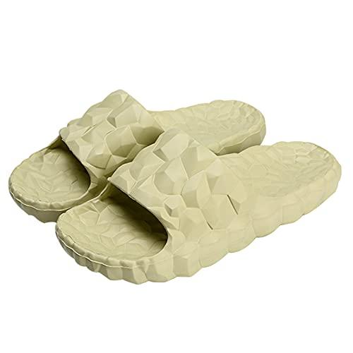 Zapatillas de masaje para mujeres y hombres, sandalias de reflexología de pies y acupresión, secado rápido, zapatos de baño con punta abierta, baño, piscina, gimnasio, casa para interior y exterior