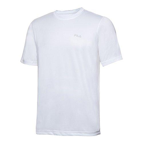 Fila Tennis Crew Shirt met korte mouwen voor heren