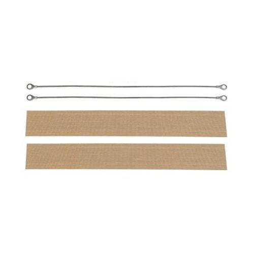 8' Hand Impulse Sealer Repair Kit 2 Element 2 Cloth Set Spare Parts