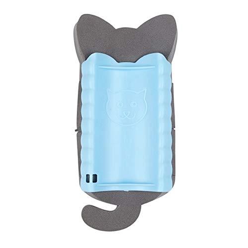 YUNGYE Neue Haustier Hund Katze Badebürste Kamm Gummihandschuh Haar Fellpflege Massage Mit Haustier Dusche Hundebürste (Color : L, Size : ONE Size)