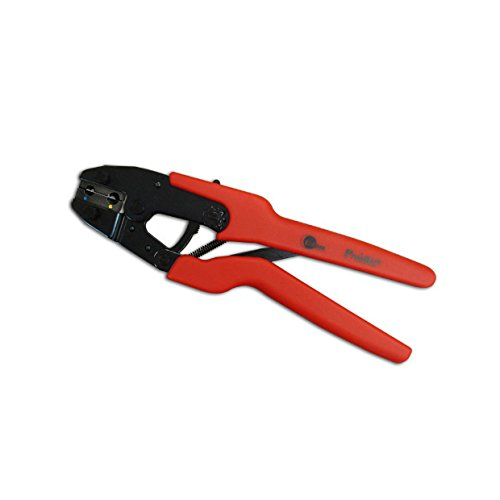 Pro'sKit 902-331 Ergo-Crimper for Insulated Flag Terminals, AWG 12 - 10 and 14 - 16 Size by Pro'sKit