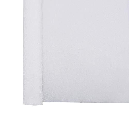 Yun-hangbaihuodian 2.5m / roll 50cm Breite Origami Krepppapier Crinkled Papierrolle Blume Einwickelpapier for Party-DIY Dekoration Scrapbooking Crafts (Color : P01 White)