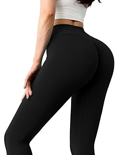 TOPLAZA Legging Pantalones Deportivos Mujer Elásticos Talle Alto para Yoga Ejercicio