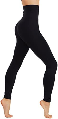 CODEFIT Yoga Fleece Leggings Winter High Waist Tummy Control Pants L XL Plus Size 10 16 CF38 product image