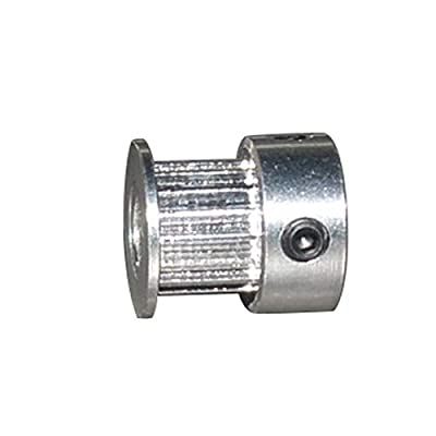 Chenweiwei LCuiling-Timing pulley GT2 16 teeth Timing Pulley, Bore 3.17mm 4mm 5mm 6mm 6.35mm, width 9mm 10mm, 2GT Synchronous Belt Gear, Small backlash Alloy