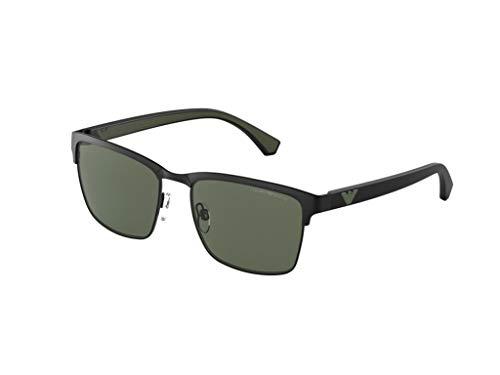 Emporio Armani Gafas de sol EA2087 301471 Gafas de sol hombre color Negro verde tamaño de lente 56 mm