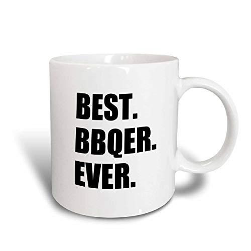 N\A Mug_179759_1 Best Bbqer Ever - BBQ Grilling Chef - Barbecue Grill King Barbecuer Ceramic Mug