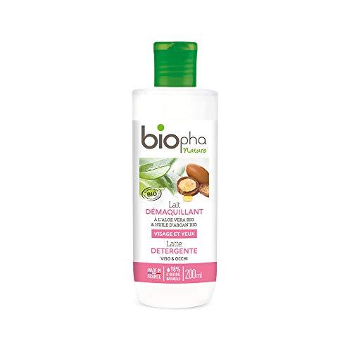 Biopha Nature Lait Démaquillant 200 ml - Lot de 2