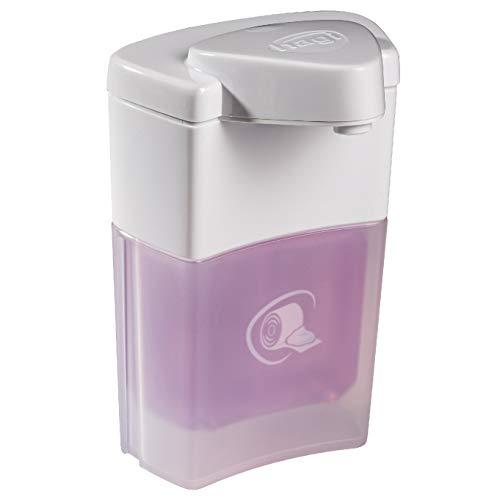 hagi Popo-Schaum statt feuchtem Toilettenpapier: berührungslos aus dem automatischen hagi Schaumspender (Akku-Technologie)