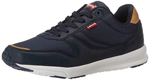 Levi's Baylor 2.0, Zapatillas para Hombre, Azul (Navy Blue 17), 43 EU