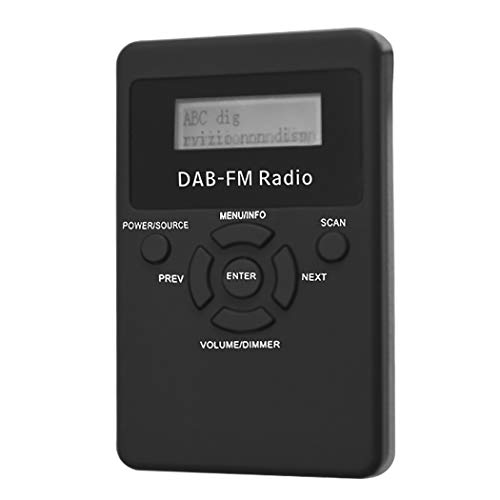 Fansport Digital Radio Wiederaufladbare DAB MP3 Player Digital Player Stereo Radio