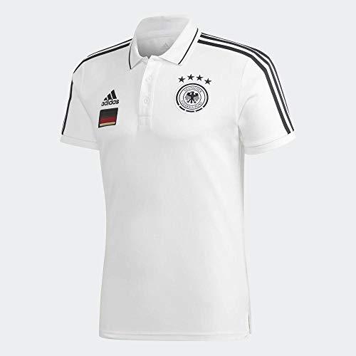 adidas DFB 3s Poloshirt für Herren L weiß
