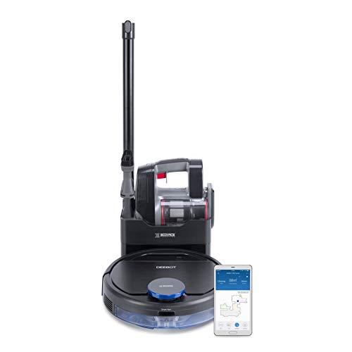 ECOVACS Robotics DEEBOT Pro 930 2in1 Reinigungsroboter – Leistungsstarker, intelligenter Saug- und Wischroboter plus Handstaubsauger – App- & Alexa-Steuerung
