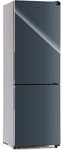 FRIGORIFICO COMBI CRYSTAL GLASS FGC-881 GRIS INFINITON NO FROST (Frigo mas congelador...