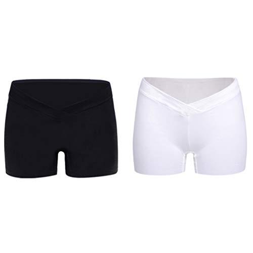 Yuandongxing Calzoncillos de Algodón para Mujeres Ropa Interior de Maternidad con Pantalón Corto Wasit Panties Cortos de Soporte