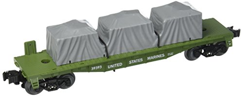 Lionel Trains Marines US Made Flatcar