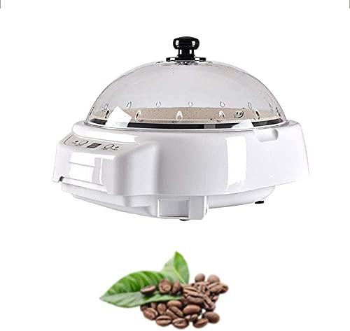 XJYDS Coffee Tosting Machine Coffee Roaster, Hogar Pequeña Máquina de tostado de frijol de café, sin ruido Máquina de frijoles fritos multifuncionales automática, tambor eléctrico asado de café rotati