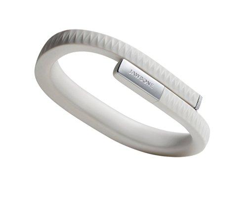 Jawbone UP Aktivitäts/Schlaftracker-Armband (Größe S, 3,5 mm Klinke, Bluetooth 4.0) hellgrau für Apple iOS und Android